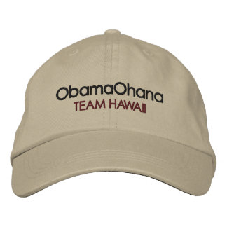 Obama Ohana gorra Gorra De Beisbol