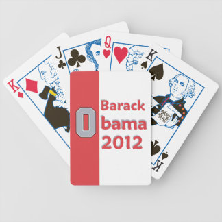 Obama OHIO Bicycle Playing Cards