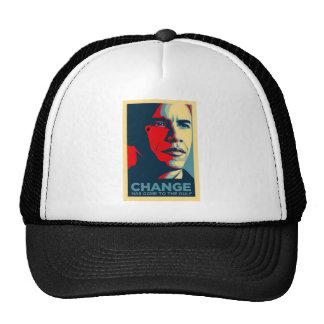 Obama Oil Drop Tear Trucker Hat