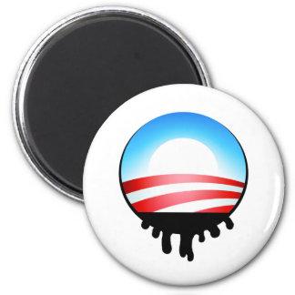 Obama Oil Spill BP 2 Inch Round Magnet