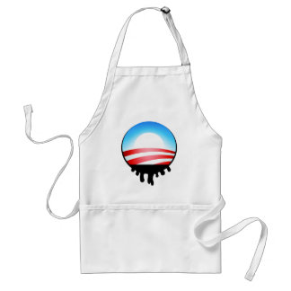 Obama Oil Spill BP Adult Apron