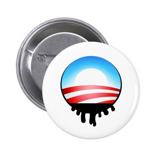 Obama Oil Spill BP Buttons