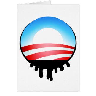 Obama Oil Spill BP Card