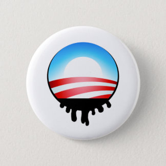 Obama Oil Spill BP Pinback Button