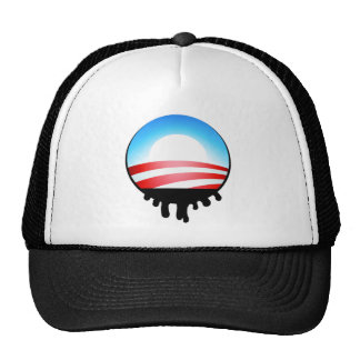 Obama Oil Spill BP Trucker Hat