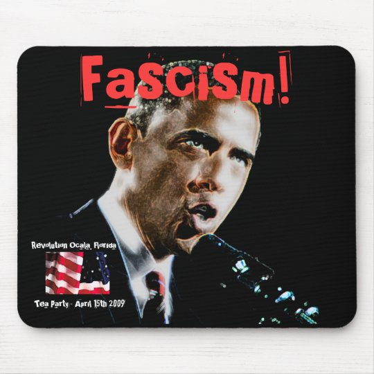 Obama, OldGlory, Revolution Tea Party Mouse Pad