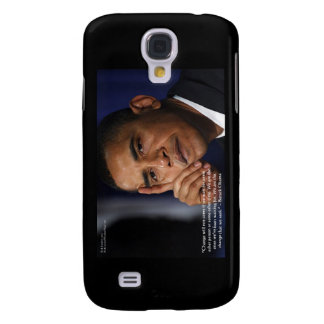 "Obama ""On Changing"" Wisdom Quote Gifts &  Galaxy S4 Cover"