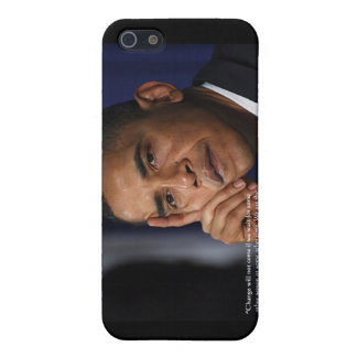 """Obama """"On Changing"""" Wisdom Quote Gifts & Tees Cover For iPhone 5"""