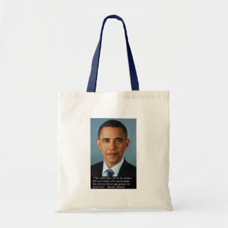 Obama on perfection of the Union Tote Bag