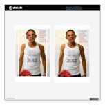 Obama One More Chance Decals For Kindle Fire