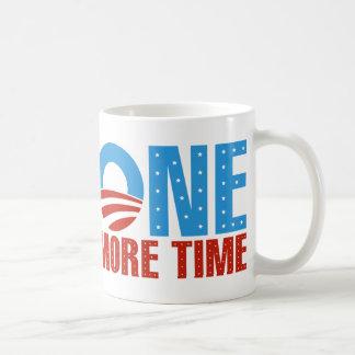 Obama: One More Time Classic White Coffee Mug