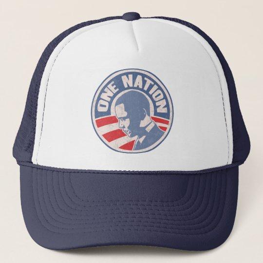 obama-one-nation-T Trucker Hat