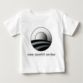 Obama One World Order Baby T-Shirt