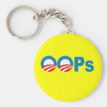Obama oops keychain
