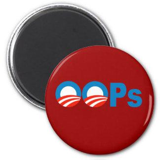 Obama oops magnet