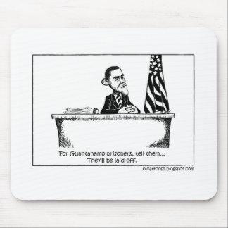 Obama Orders Guantanamo to Close Mouse Pad
