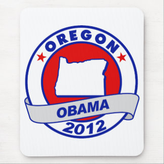 Obama - oregon mouse pad