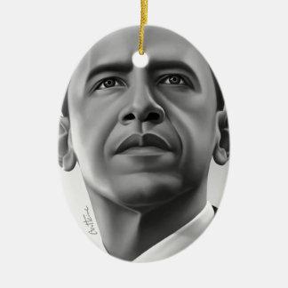 Obama Ornamento De Navidad