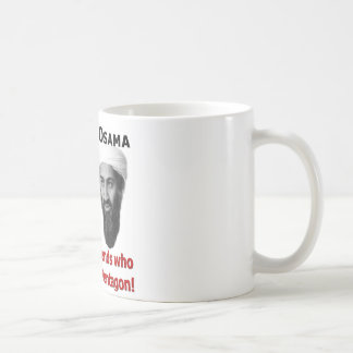 Obama & Osama Coffee Mug