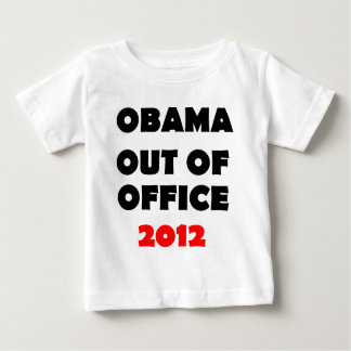 Obama Out of Office 2012.png Baby T-Shirt
