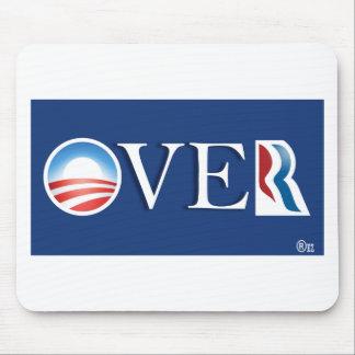 "Obama ""over"" Romeny Mouse Pad"