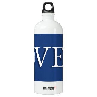 "Obama ""over"" Romney! Aluminum Water Bottle"