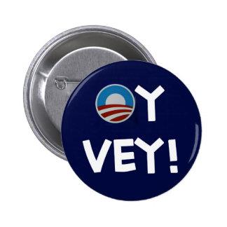 obama oy vey 2 inch round button