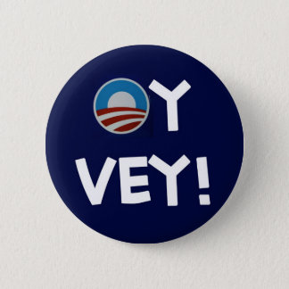 obama oy vey button