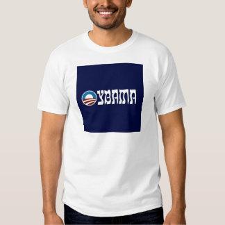 obama oybama hebrew letters t shirt