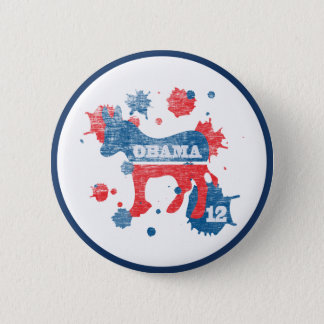 Obama Paint 2012 Button