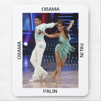 Obama Palin Mousepad (Portrait)