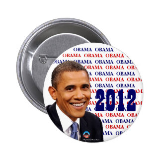 OBAMA para el botón político del pinback del presi Pin Redondo De 2 Pulgadas