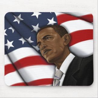 Obama para el engranaje 2012 de la elección del pr tapete de ratones