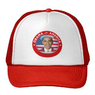 Obama para el gorra de América