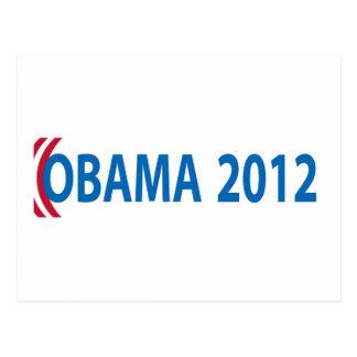 Obama para el presidente, 2012 tarjetas postales