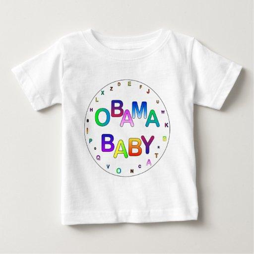 ¡Obama para el presidente, bebé! Playera