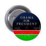 Obama para el presidente del botón de Kenia Pin