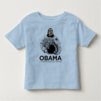 Obama para el presidente del espacio remeras