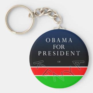 Obama para el presidente del llavero de Kenia