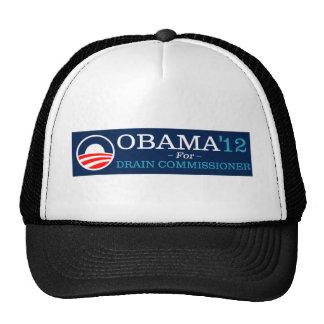 Obama para la comisión del dren gorras de camionero