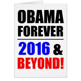 Obama para siempre ¡2016 y más allá tarjetón