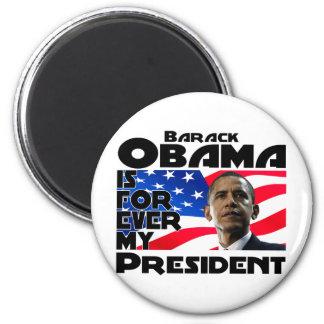 Obama para siempre iman de nevera