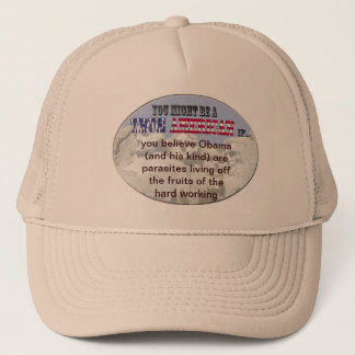 obama parasites trucker hat