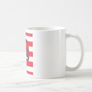 Obama patriotic coffee mug