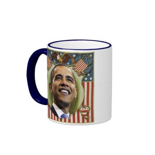 Obama Patriotic Crest Mug
