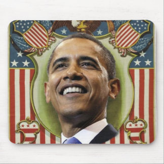 Obama Patriotic Mousepad