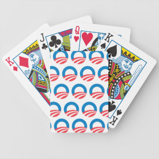 OBAMA PATTERN.png Playing Cards