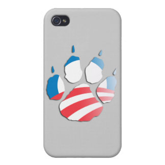 OBAMA PAW.png iPhone 4 Case