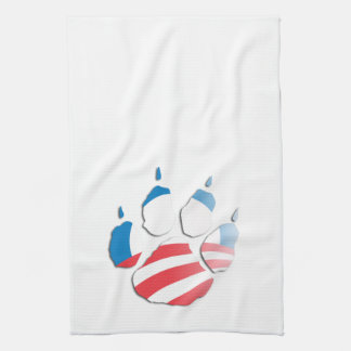 OBAMA PAW -.png Hand Towel