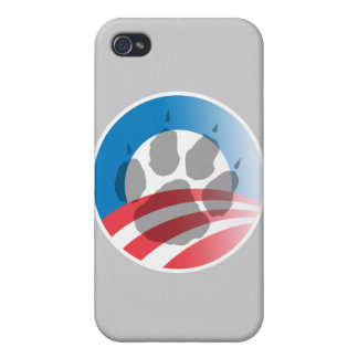 OBAMA PAWS -.png Case For iPhone 4